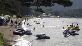 青松浜_Seisyo Beach[猪苗代湖!ぐるっと一周・浜紹介]