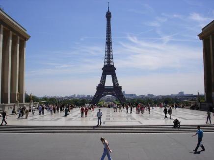 オープンバスでパリ観光[アムステルダム&ブリュッセル+パリの旅行記#7]