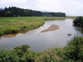 長瀬川_Nagase River[猪苗代湖!ぐるっと一周・浜紹介]
