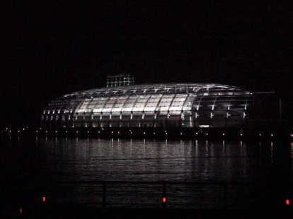 夜の小名浜港[小名浜港の点風景#2]