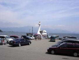 翁島港_Okinajima Port[猪苗代湖!ぐるっと一周・浜紹介]