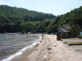 小石ヶ浜_Koishiga Beach[猪苗代湖!ぐるっと一周・浜紹介]