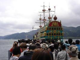 箱根海賊船・芦ノ湖の遊覧船[ぐるり箱根・乗り物旅#4]