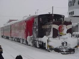 ストーブ列車[冬の津軽半島#2]
