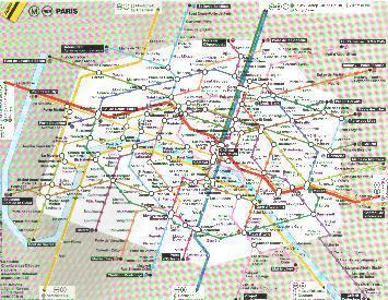 Metro[パリ地下鉄の話]