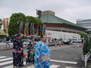 両国国技館(相撲観戦)【東京考察#85】