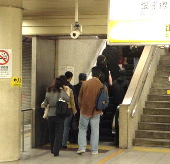 駅のエスカレーター【東京考察#63】