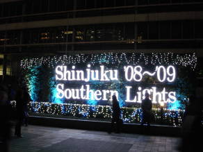 新宿テラスシティのイルミネーション2008(新宿駅南口)【東京考察#269】