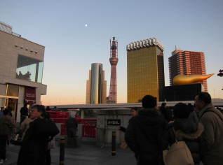 2010年師走の東京スカイツリー(建設中)【東京考察#307】
