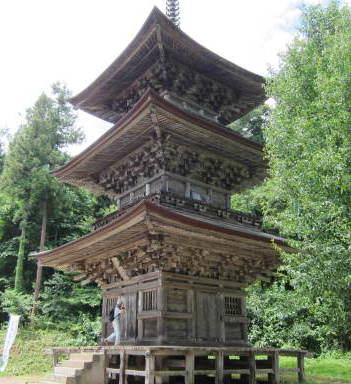 法用寺(会津唯一の三重塔)【会津考察#33】