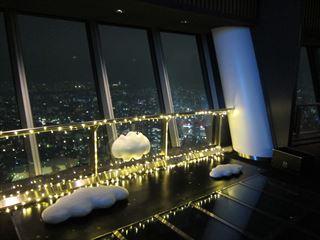 夜の東京スカイツリー(展望デッキと展望回廊)【東京考察#317】