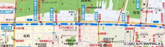 小金井周辺の玉川上水(中流部)【東京考察#237】