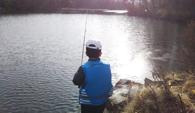 冬でも釣りへ【目指せ!アングラー#13】