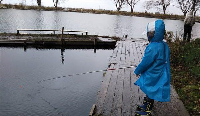 管理釣り場で大物ゲット【目指せ!アングラー#16】