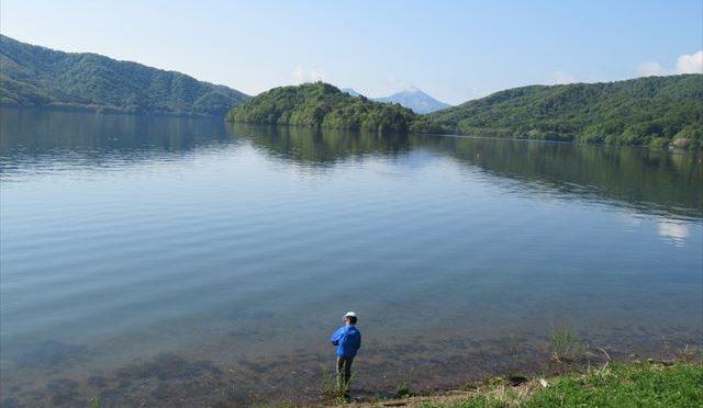 桧原湖で釣り【目指せ!アングラー#18】